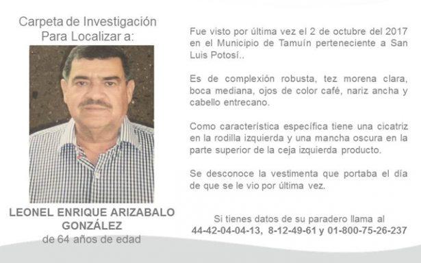Habrá operativo pie a tierra para localizar a funcionario de Tamuín