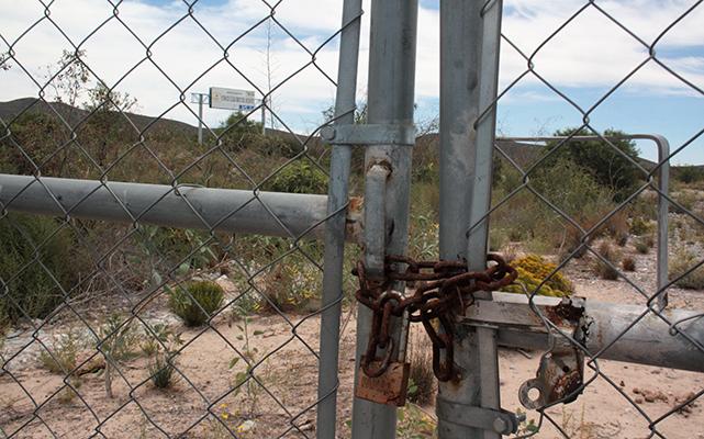 Museo del Desierto | Foto: Juan José González   En este proyecto se invirtió 25 millones de pesos, los que se fueron ala basura pues el sitio nunca se abrió al publico