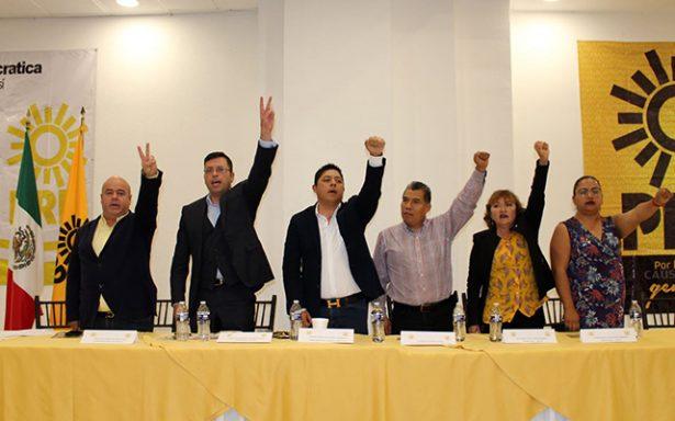 50% de candidatos PRD serán por designación