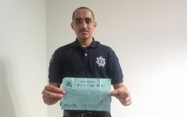 Policías municipales se inscriben a la Carrera de El Sol de San Luis