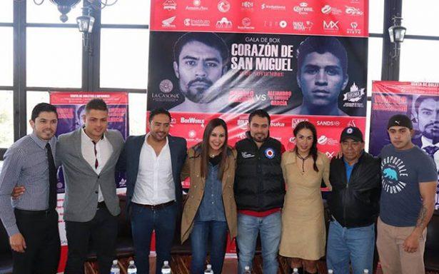 Rómulo Koasicha estelariza gala de box en Guanajuato