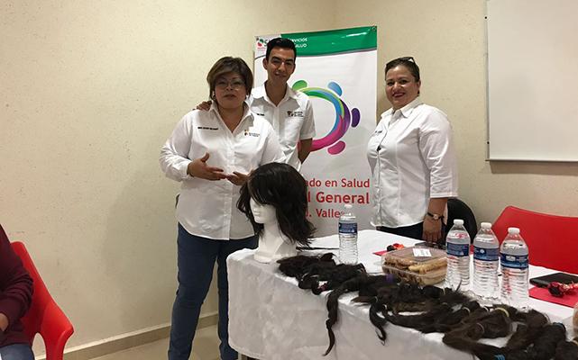 SLP tendrá taller de pelucas oncológicas para pacientes con cáncer