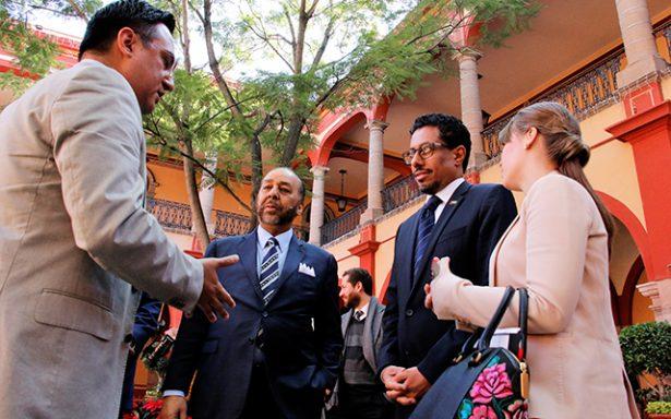 UASLP recibió al embajador en México de Emiratos Árabes Unidos