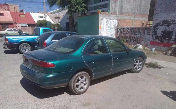 Recuperan vehículo robado estaba en praderas
