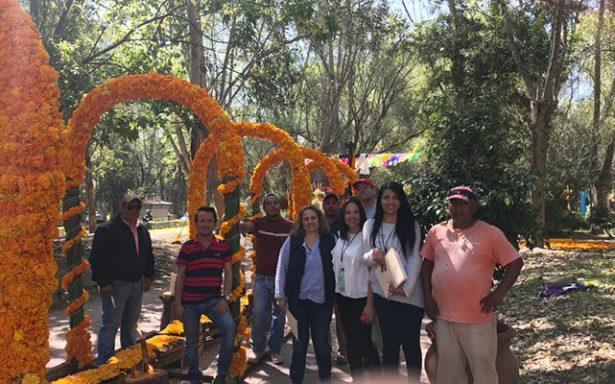 Parque Tangamanga I obtuvo primer lugar en concurso de altares de muertos