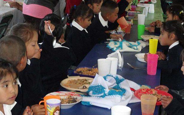 Pusieron en marcha desayunador escolar en primaria de Llanitos