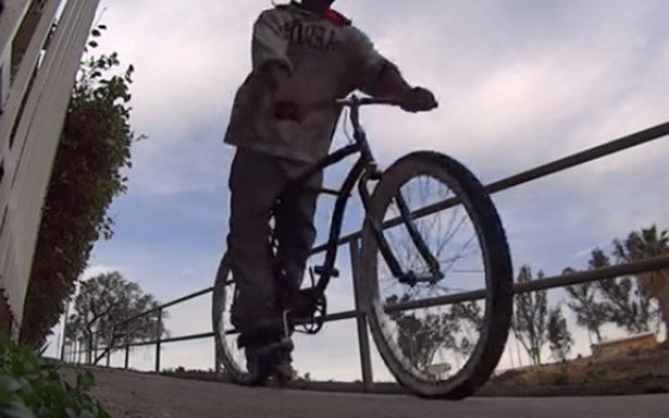 Atrapan a ladrones domiciliarios que huían en bicicletas