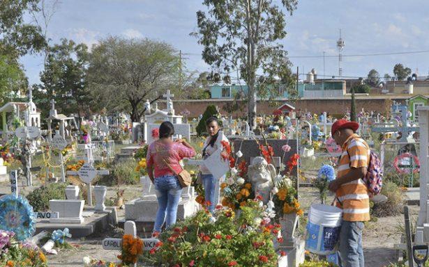 Saldo blanco reporta PCM de visita a panteones municipales