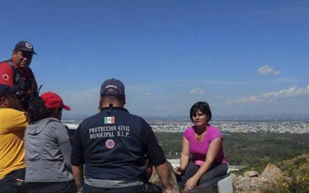PCM rescata a dos mujeres perdidas en la Sierra de San Miguelito