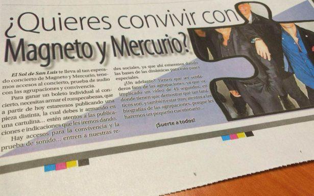 Magneto y Mercurio dinámica