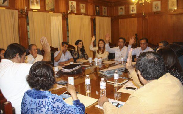 Regidores aprueban convocatoria para renovación del consejo consultivo del SASAR