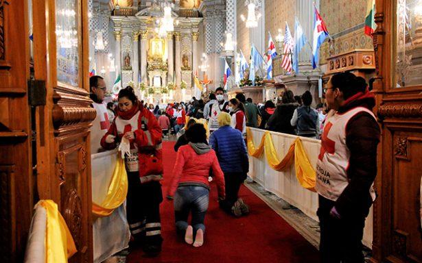 Decenas de atenciones médicas se han ofrecido por festividades de la Virgen de Guadalupe