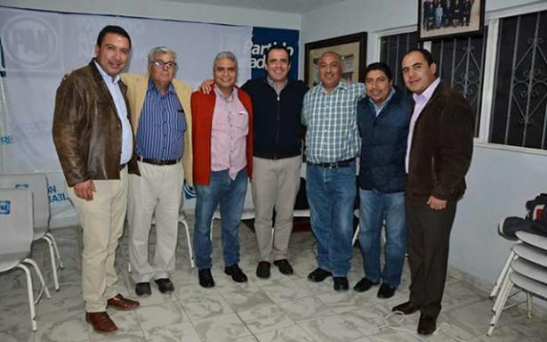 Dirigente estatal del PAN expone en Matehuala perspectiva del Frente ciudadano por México