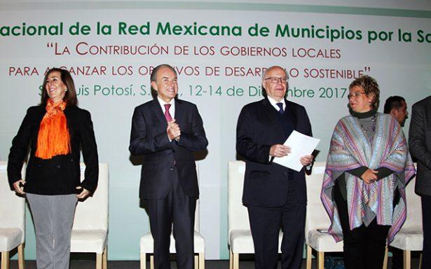 Inauguran XXIV Reunión Nacional de la Red de Municipios por la Salud en SLP