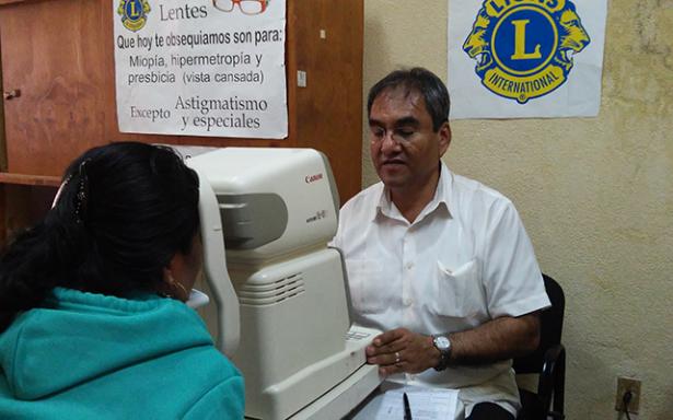 Organiza Club de Leones Campaña de Donación de Lentes Reciclados