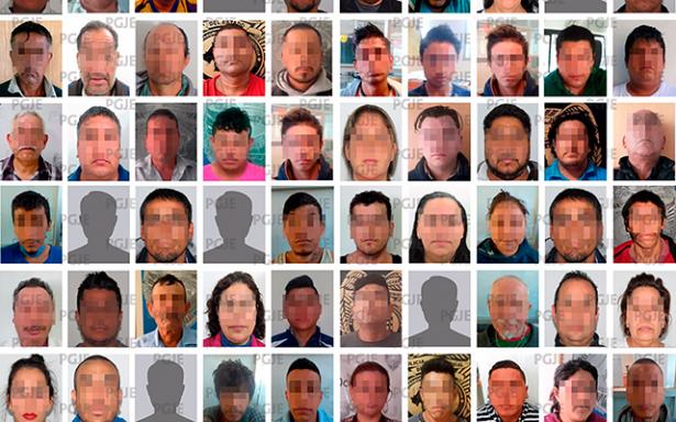 PGJE detuvo a 77 personas en el mes de noviembre
