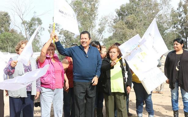 """Banderazo del alcalde a las obras en """"Puente del Sol"""""""