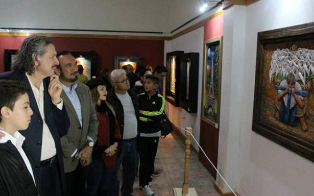 """Sergio Durán Prieto Inaugura su exposición """"Pinceladas de Arte"""" en el Museo"""