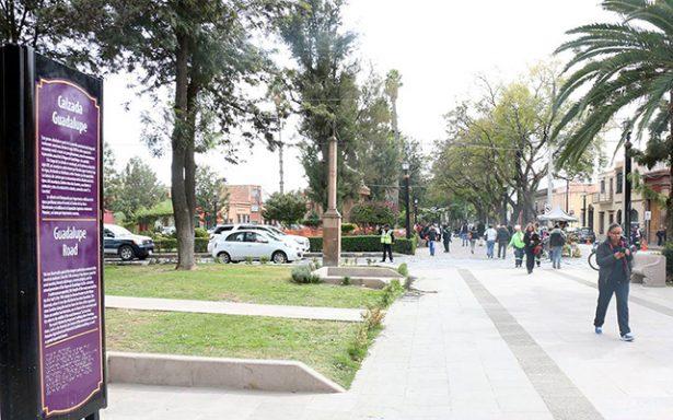 Entrega alcalde Gallardo la Calzada de Guadalupe