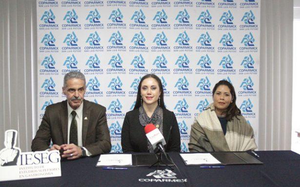 Firman convenio de colaboración IESEG y la COPARMEX
