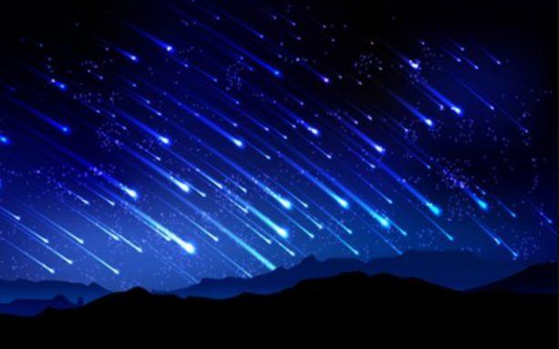 Lluvia de estrellas fugaces en SLP