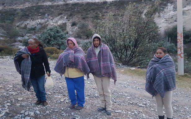 Seguirán valores bajo cero en San Luis Potosí