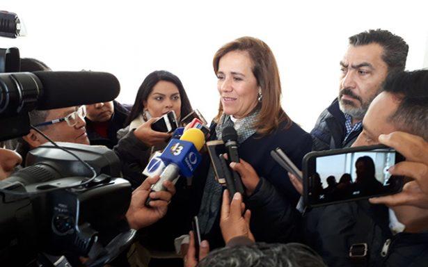 """""""De llegar a gobernar, combatirá el crimen organizado """"sin amnistías ni complicidades"""": Margarita Zavala"""