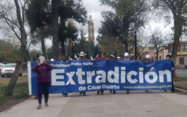 Gobierno federal y Chihuahua firman acuerdo sobre recursos y César Duarte