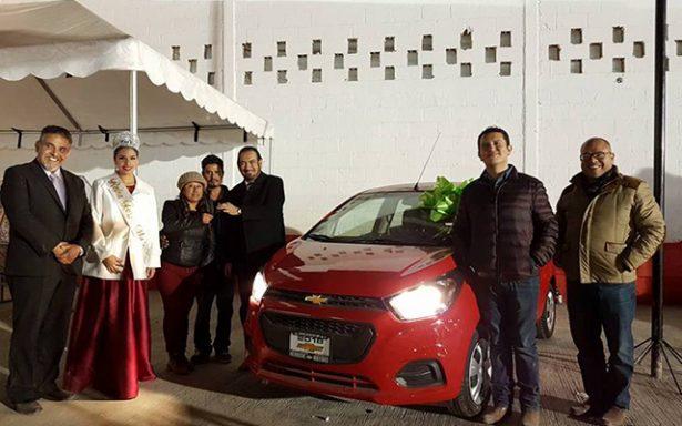 Matehualense se ganó el automóvil del Sorteo Ferema 2018
