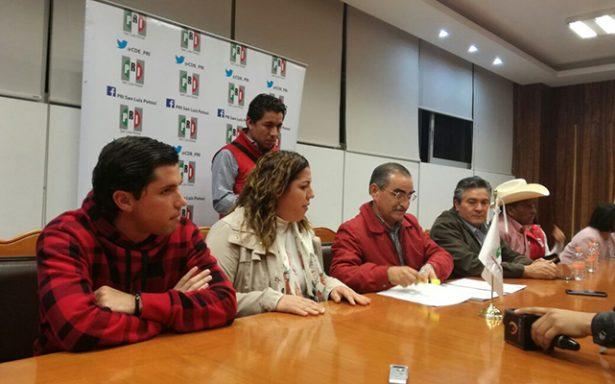 Emite PRI convocatoria para elegir candidatos a diputados locales