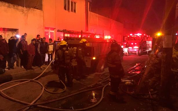 Explosión en la Julián Carrillo