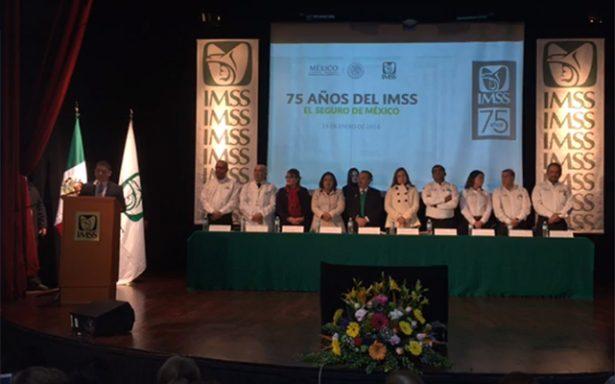 Celebra IMSS su 75 aniversario