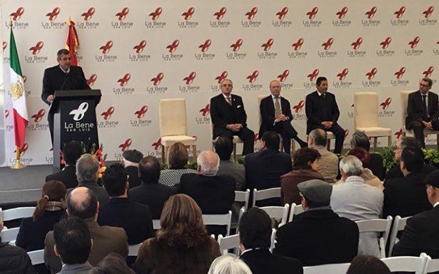 Inauguran nueva área hospitalaria de La Bene San Luis