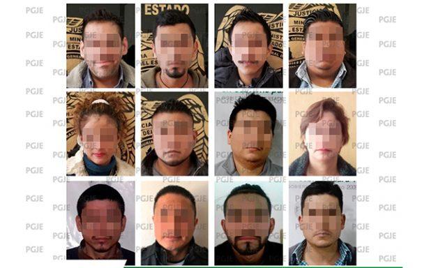 PGJE detiene a 12 personas en primera semana de enero