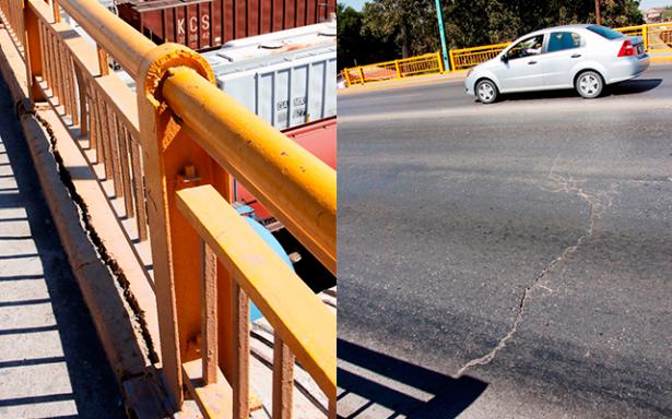 Se fractura Puente Universidad