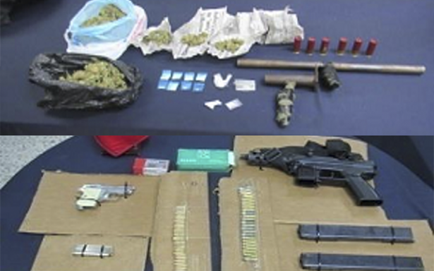 SSPE detiene a 36 personas presumiblemente relacionados con diversos delitos