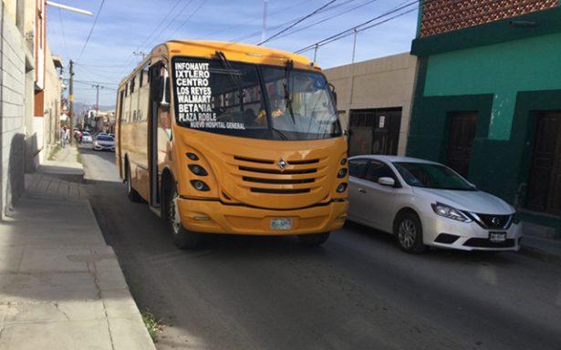 Transporte urbano se integra a prestar servicio a rutas paceñas
