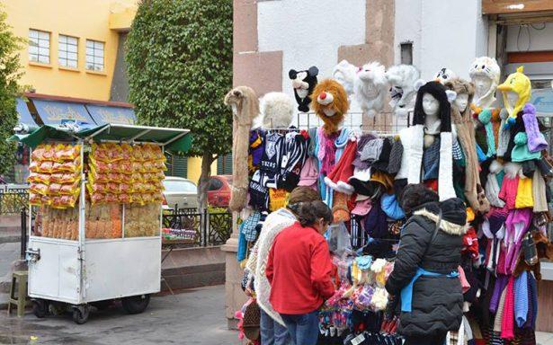 Se mantiene padrón de informales en Centro Histórico: Comercio