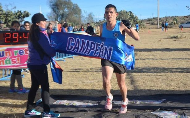 Waldemar Martínez logra segundo triunfo a campo traviesa