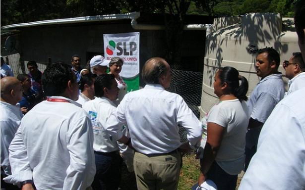 Proyecta CEA seguir con PROCAPTAR y drenaje a poblados de Ébano