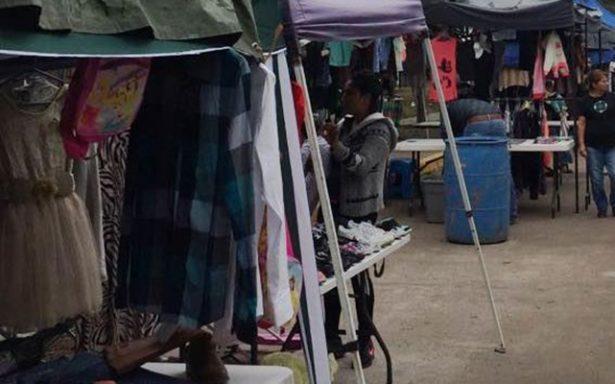 Piden reacomodo de ambulantes en calles de Rioverde