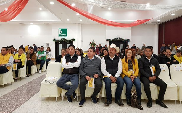 PRD tendrá candidatos en los 58 ayuntamientos