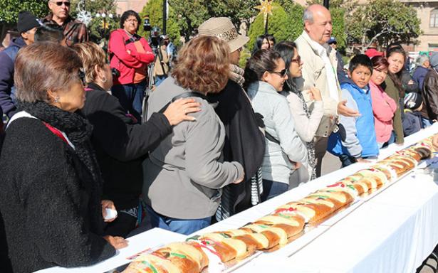 Invitan para el jueves, a partir monumental Rosca de Reyes