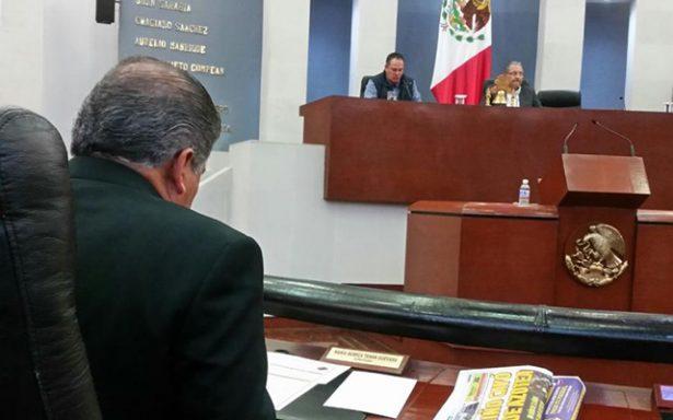 Se recibe Informe de Tribunal Estatal de Justicia Administrativa