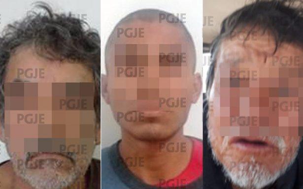 Detuvo PGJE a 3 probables violadores en últimos días de 2017