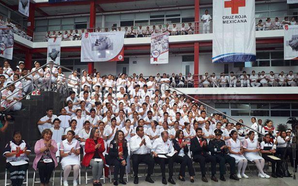 El Gobernador arrancó la Colecta de Cruz Roja