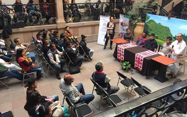 Lengua Pame  en riesgo de  extinción: COLSAN