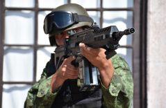 """[Galería] Fusil FX-05 la """"Serpiente de Fuego"""" del Ejército"""