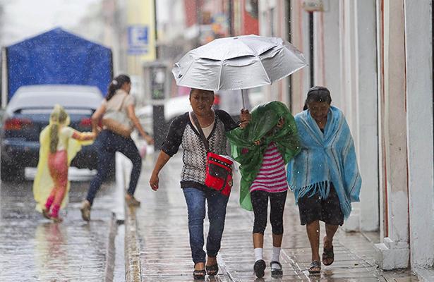 Humedad del Océano Pacífico provocará lluvias en el país