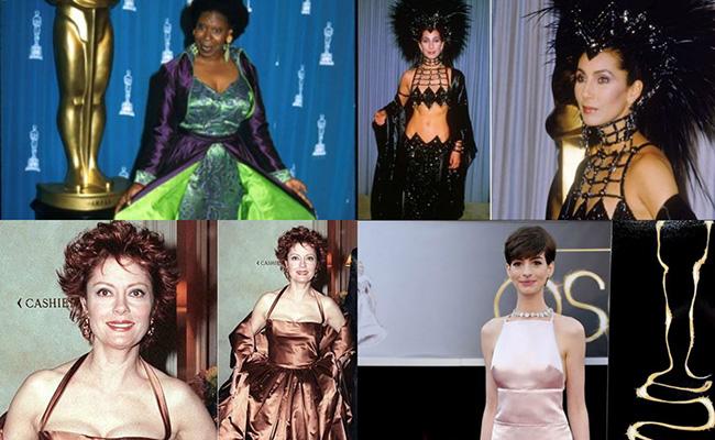 Y el Oscar al villano de la noche es para… ¡Los peores vestidos!